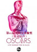第91屆奧斯卡金像獎全程(英文原聲)