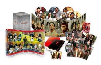 赤壁下 DVD版日本发售 豪华版包装图曝光