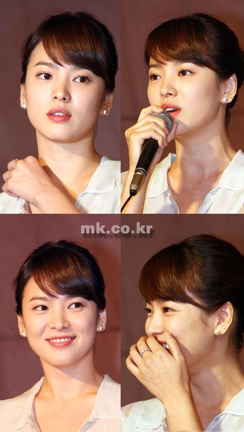 宋慧乔打败李英爱 成为港人最喜欢的韩国明星