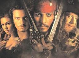 《加勒比海盗》看杰克船长斗剑
