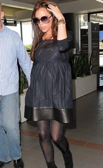 明星美女 维多利亚/维多利亚怀孕时