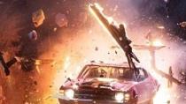 《狂暴飞车3D》片段 凯奇、菲德内尔上演爆炸车战