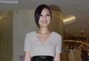 杨千嬅自称时尚专业女性 为未来宝宝保养身体
