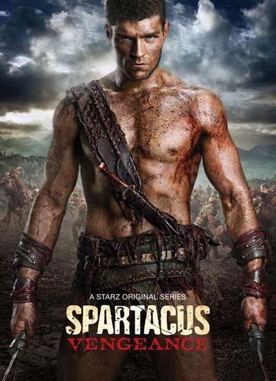 《斯巴达克斯:复仇》热血版海报-斯巴达克斯 确定回归日期 2012年再