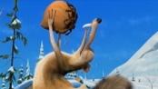 《冰川时代4》圣诞特辑宣传片 伶俐松鼠冰上秀舞姿