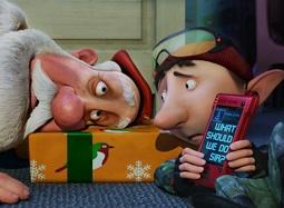 """《亚瑟·圣诞》中文片段 """"公公""""险露馅全员急救"""