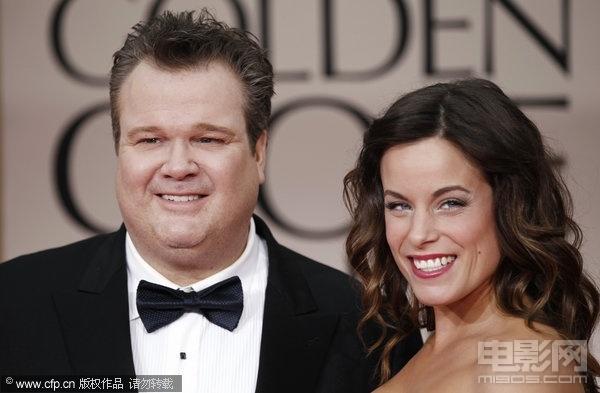 艾瑞克 斯通斯崔特携娇妻亮相 甜蜜夫妇展笑颜高清图片