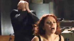 《复仇者联盟》中文片段 黑寡妇爆乳捆绑力战众男