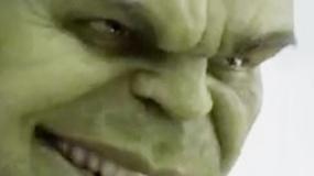 《复仇者联盟》再曝宣传片 绿巨人狞笑发狂打怪兽