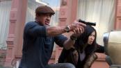 """《敢死队2》宣传片 施瓦辛格""""我会回来""""陷回忆"""