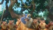 《冰川时代4》发中文片段 神秘小生物闹革命