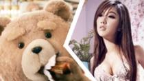 炯囧辣评:猛男贱熊R级恶搞PK宅男挚爱性感女学生