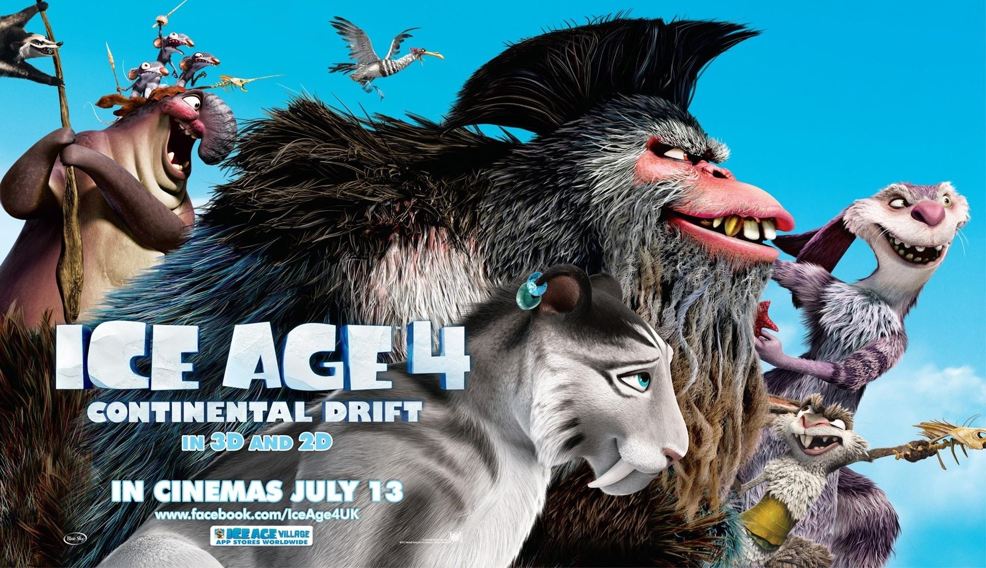 冰河时代2歌曲列表_冰川时代4海报 - TR图片·如斯 - 发现事物新价值