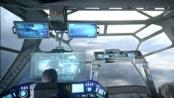 《普罗米修斯》官方发中文预告 巨型战舰登陆外星