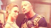 《速度与激情6》热拍中 发片场照各主演悉数亮相
