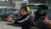 """""""生化危机5""""枪战戏幕后揭秘 李冰冰真枪上阵"""