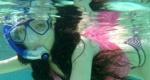 韩雪晒水下性感泳装照 展现曼妙身材宛若美人鱼