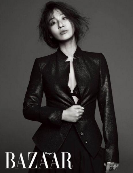 李美妍最新写真大片被曝光 发型蓬乱眼神诱人