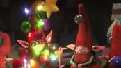 《守护者联盟》片段 圣诞老人带路雪人探秘工厂