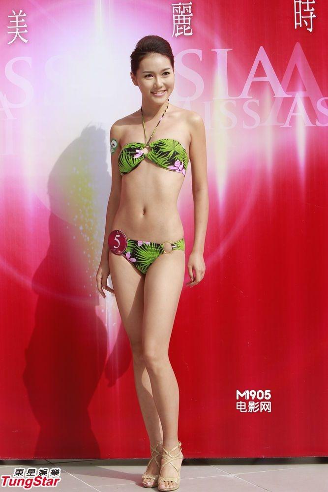 候选亚洲小姐泳装示人 身穿性感三点式笑容甜美 - zcyyglzx - zcyyglzx的博客