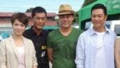 《逃出生天》片场揭秘 广州封路百米只为外景拍摄