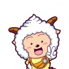 喜羊羊与灰太狼之喜气羊羊过蛇年