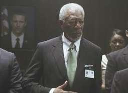 《奥林匹斯的陷落》片段 危急关头总统掌控全局