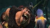 《疯狂原始人》中文预告 梦工厂3D动画巨制将上映