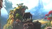 《疯狂原始人》中文预告 山崩地裂后迷幻世界显现