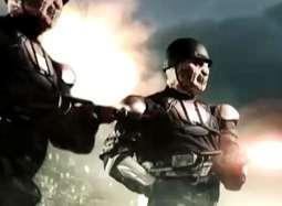 《生化人》曝光片段 大兵火力全开怒射骷髅战队