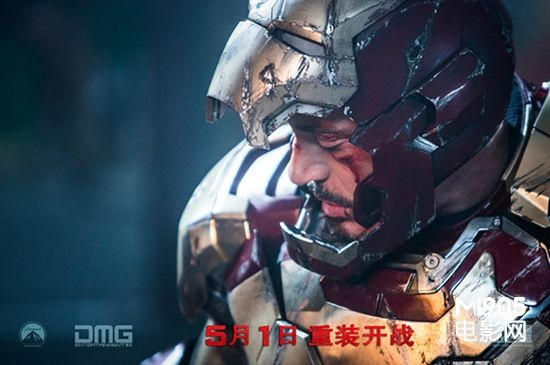 钢铁侠3 敲定5月1日上映 4月30日 24 00首映票卖疯了 高清图片