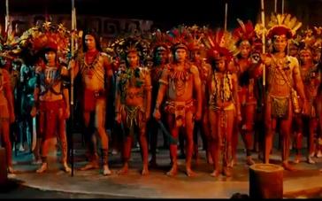《追踪长尾豹马修》片段 遭土著人围困逃跑不能