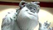 《怪兽大学》中文制作特辑 笔绘泥塑造型栩栩如生