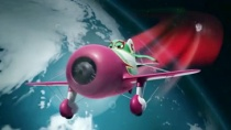 《飞机总动员》中文片段 狂傲飞机陋室拍华丽广告