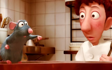 《美食总动员》经典片段 料理鼠王烹制绝美浓汤