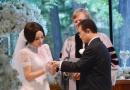 刘晓庆与老公王晓玉热吻 美国低调大婚现场曝光