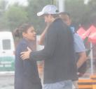 艾什顿·库彻与米拉·库妮斯在北京亲密出游