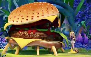 《天降美食2》曝宣传片 大汉堡口水美味香浓芝士