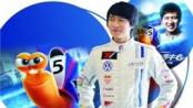 韩寒献声《极速蜗牛》 内敛性格成就赛车手冠军