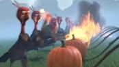 《火鸡总动员》中文预告片 火鸡掀战争对抗人类