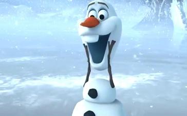 《冰雪奇缘》雪人版中文预告 调皮捣蛋好伙伴