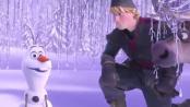 《冰雪奇缘》中文片段 搞怪雪人反常规向往夏天