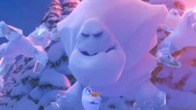 《冰雪奇缘》中文片段 雪怪来袭悬崖峭壁陷绝境