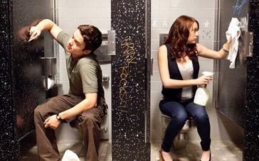 《绯闻计划》片段 艾玛·斯通与gay蜜厕所诉衷肠