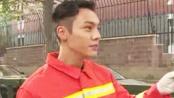 陈伟霆参加消防训练 《救火英雄》埋怨胡军太重