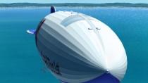 《天空的幽灵船》片尾曲 豪华飞艇游遍关西美景