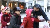 《归来》视频日志 剧组孩子欢乐玩耍老鹰抓小鸡