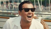 《华尔街之狼》中文片段 莱昂纳多笑颜优雅送客