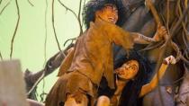 """《金鸡3》原始人预告 郑中基""""喂食""""饥饿吴君如"""