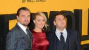 《华尔街之狼》首映 众主创盛装亮相为影片助阵